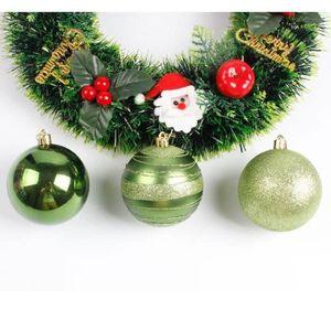 bon prix haute qualité 6 peint à la main Verre Babioles Décorations pour arbres de Noël