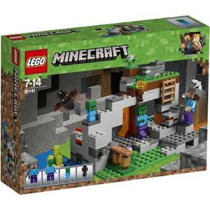 ASSEMBLAGE CONSTRUCTION LEGO® Minecraft™ 21141 La grotte du zombie
