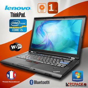 ORDINATEUR PORTABLE Lenovo Thinkpad T410 I5 2.4GHz RAM 8GO HDD 1TO ECR