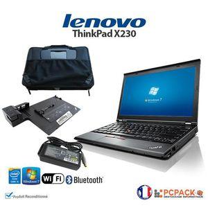 ORDINATEUR PORTABLE ULTRABOOK LENOVO X230 i5 4Go 320Go Windows 7 + SAC