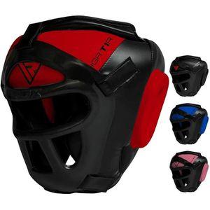 CASQUE DE BOXE - COMBAT RDX Casque De Boxe MMA Grille Protection Tête Muay