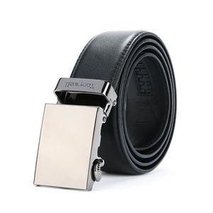 afae16556f4d CEINTURE ET BOUCLE Boucle Mens véritable glissement en cuir 35mm Ratc ...
