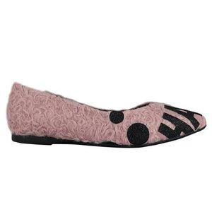 SANDALE - NU-PIEDS Sandale - nu-pieds Bailarina tag pink