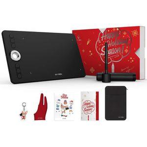 TABLETTE GRAPHIQUE XP-PEN Tablette Graphique Deco 02 Stylet 8192 avec