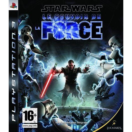 JEU PS3 STAR WARS POUVOIR DE LA FORCE / jeu PS3