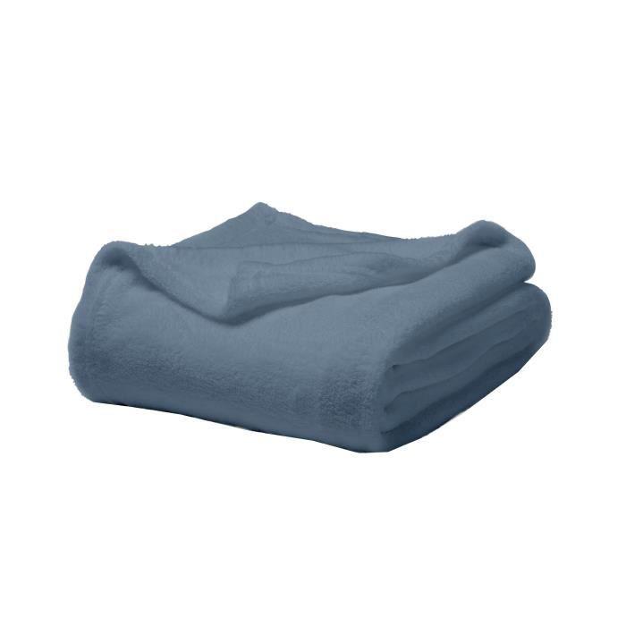 Matière : 100% polyester - Dimensions : 180x220 cm - Coloris : bleu récifCOUVERTURE - EDREDON - PLAID