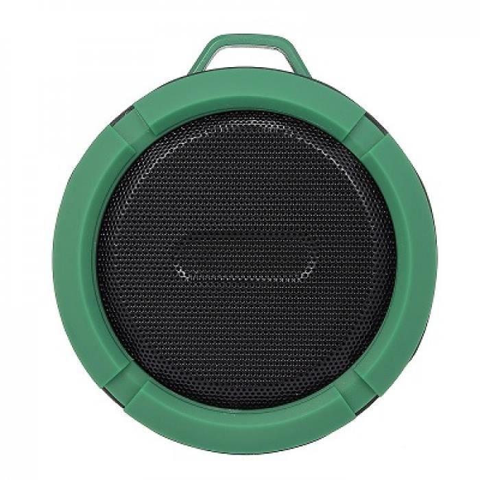 Portable Haut-parleurs Green Electronique C6 Sans Fil Bluetooth Haut-parleur Étanche Sound Box Hooktf Fente Carte Mains