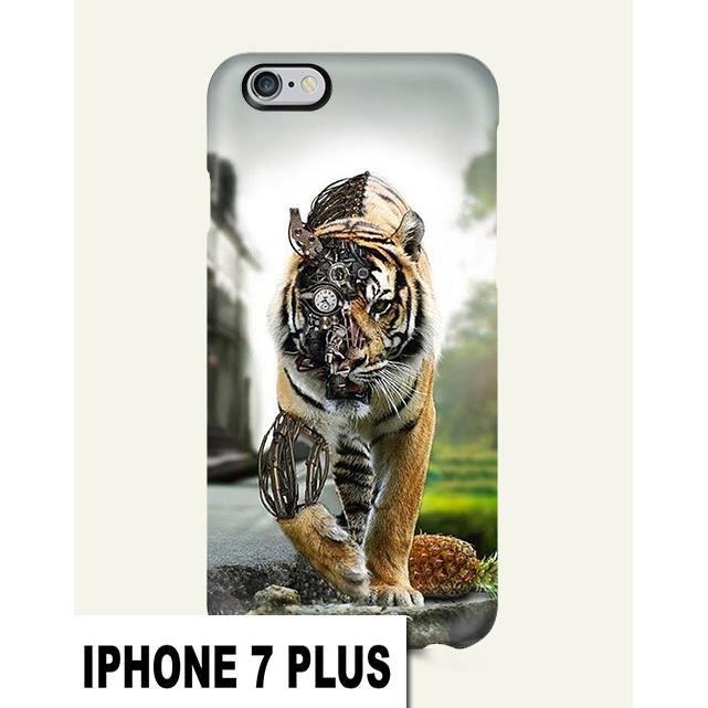 coque iphone 7 plus tigre