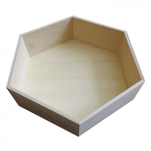 etagere hexagonale bois. Black Bedroom Furniture Sets. Home Design Ideas