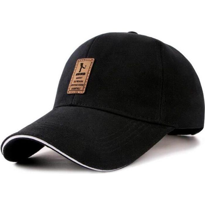 Casquette homme ajustée Baseball Polo Hip-Hop Homme Femme Casquette Chapeau  Cap chapeau de soleil Gris 0e5a9749458f