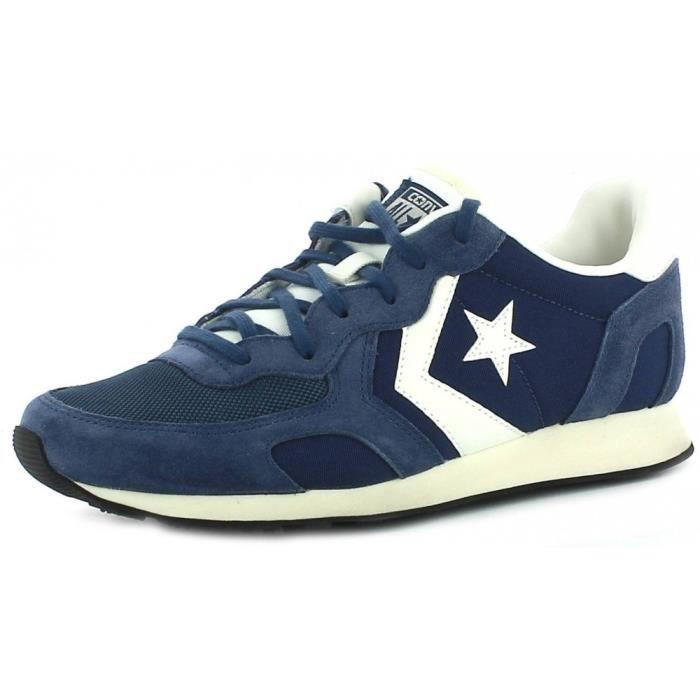 Converse Auckland Racer Distressed Ox Chaussures de Sport Femme Bleu bleu - Livraison Gratuite avec  - Chaussures Baskets basses Femme