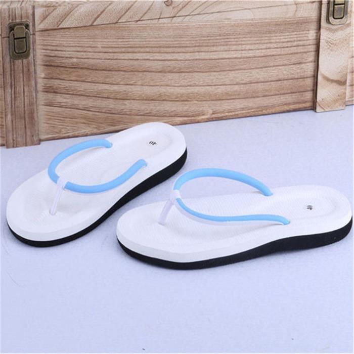 Hommes Tong De Marque De Luxe ete Plage Respirant Tongs Qualité Supérieure Nouvelle Mode Grande Taille Poids Léger Chaussures Loafer L0oLA