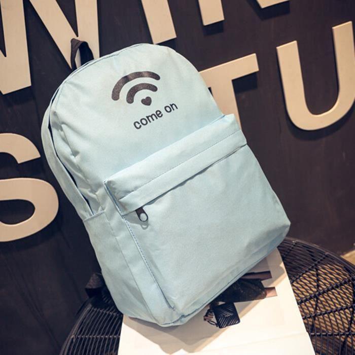 Hommes pa699 Wifi Impression Bandoulière Sac À Sacs Personnalisée Femmes Toile Dos UxvwrSTpUq
