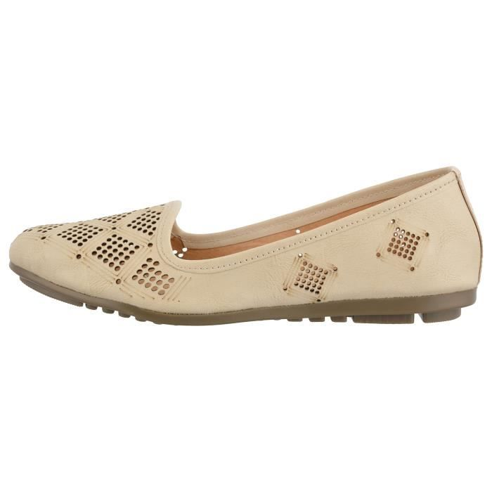 ballerines synthétiques pour femmes AY9C8 Taille-40