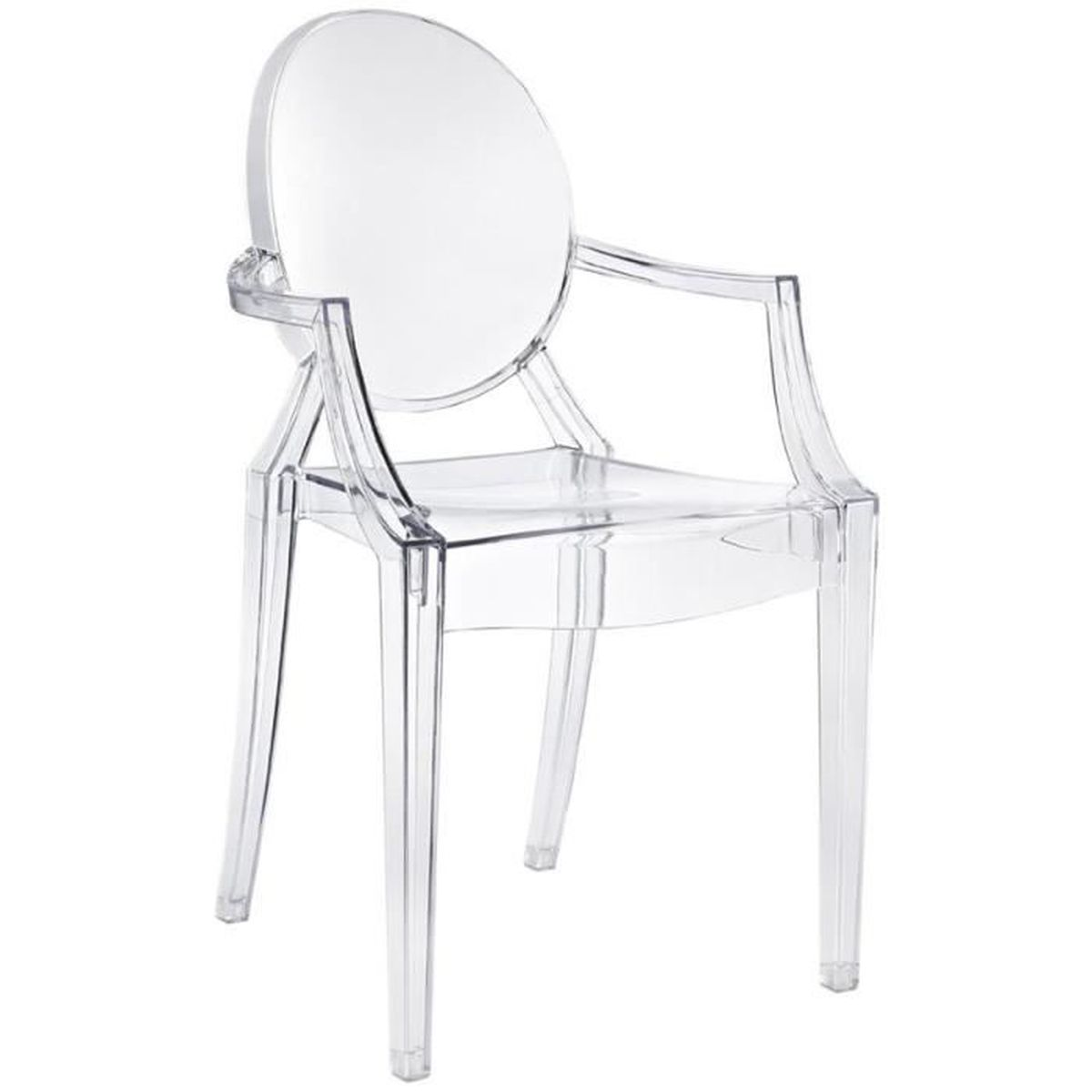 Chaise Design Inspiree Kartell Philippe Starck Transparente Achat