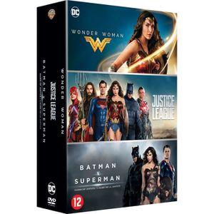 DVD SÉRIE Coffret 3 films DC Comics : Justice League, Wonder