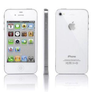 SMARTPHONE RECOND. APPLE IPHONE 4 8G BLANC SUPER OFFRE Smartphone Cap