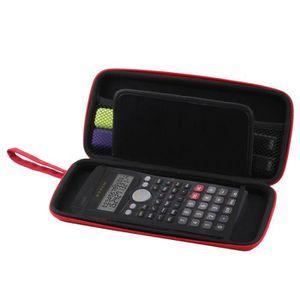 CALCULATRICE Navitech Rouge Housse de calculatrices Protection