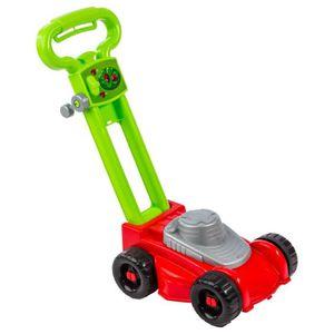TONDEUSE Tondeuse à gazon jouet enfant - H. 44 cm - Rouge