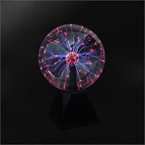BOULE A FACETTES Lampe Lumière boule plasma tactile micro 8