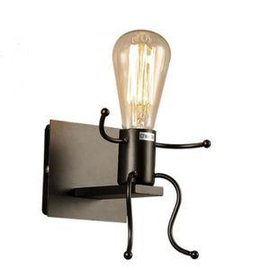 APPLIQUE  Lampe Murale E27 Rétro Mental Applique Intérieur M