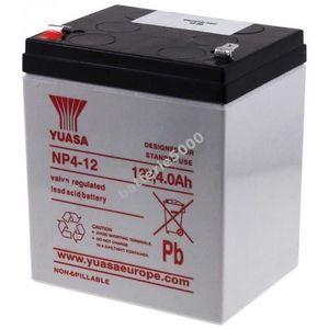 BATTERIE VÉHICULE YUASA Batterie au plomb rechargeable NP4-12 12V...