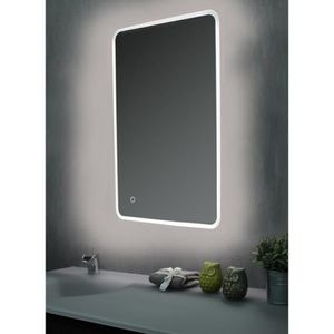 Miroir de salle de bain led achat vente miroir de salle de bain led pas cher cdiscount - Miroir salle de bain led 120 cm ...