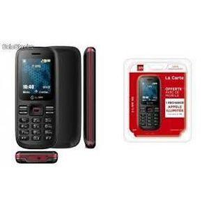 Téléphone GSM SFR 102 NOIR