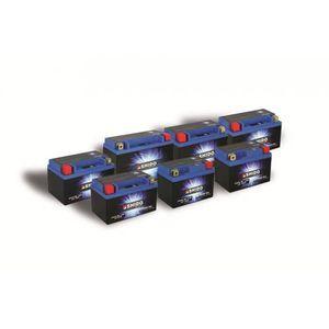 BATTERIE VÉHICULE Batterie Lithium Shido LTKTM04L sans entretien