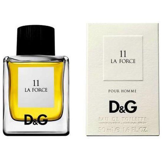 50ml Gabbana La Eau Dg 11 Toilette Hommes Force Dolce Vapo Des De Pw80XOnk