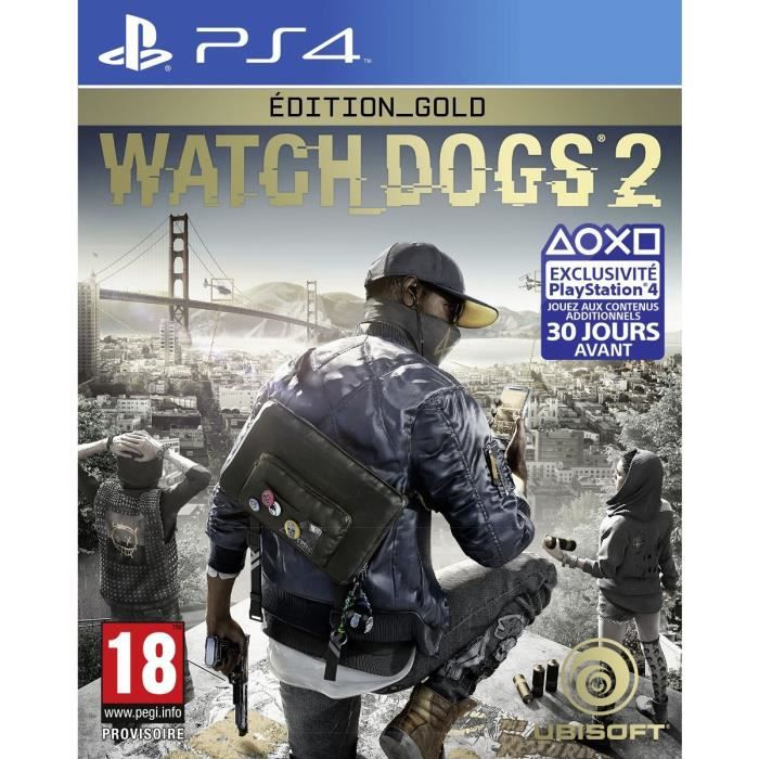 Watch Dogs 2 Edition Gold Jeu PS4