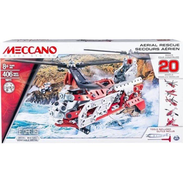 MECCANO Helicoptere - 20 Modèles à construire