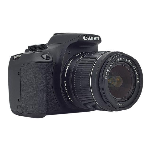 daf663f7a941d1 Canon EOS 1300D Appareil photo numérique Reflex 18.0 MP APS-C 1080p - 30  pi-s 7.5x zoom optique objectif EF-S 18-135 mm Wi-Fi,…