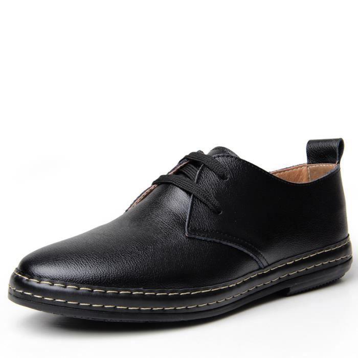 chaussures de chaussures chaussures marée casual Chaussures hommes hommes des cuir en xPTWUZHq