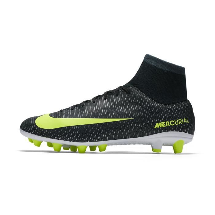 save off 816c9 f0942 Chaussures football Nike Mercurial Victory VI CR7 DF AG-PRO Vert/Jaune