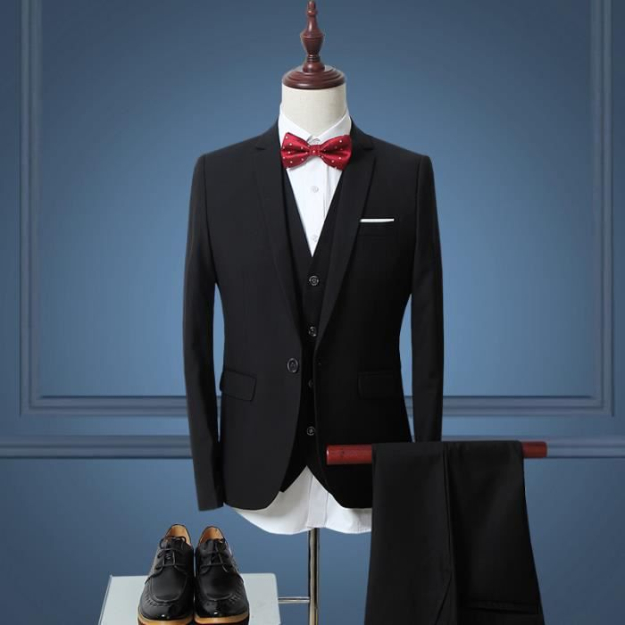 costume homme 3 pieces mariage achat vente costume. Black Bedroom Furniture Sets. Home Design Ideas