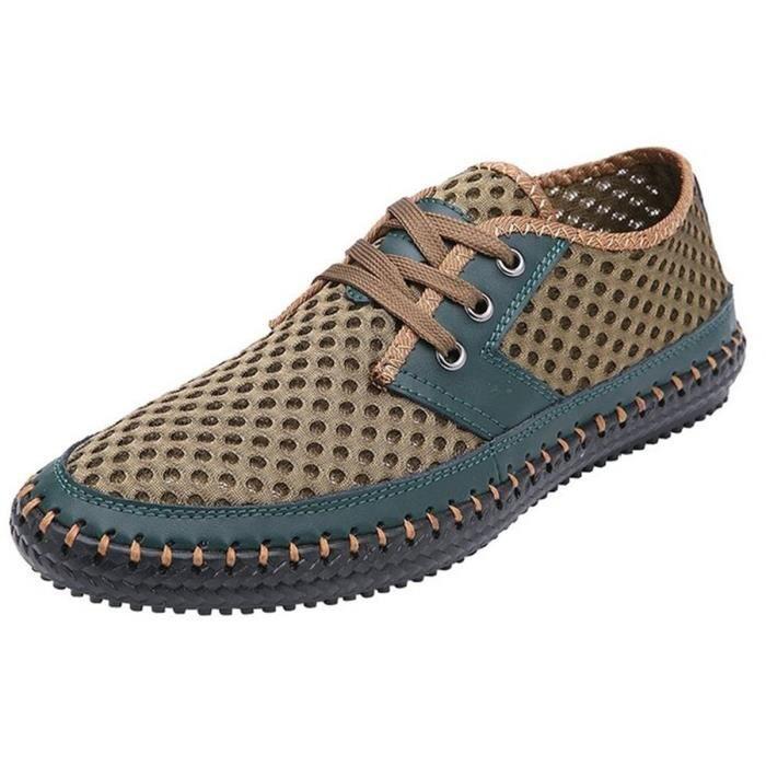 Poseidon Slip-on Mocassins d'eau Casual Chaussures de marche MERM6 Taille-47