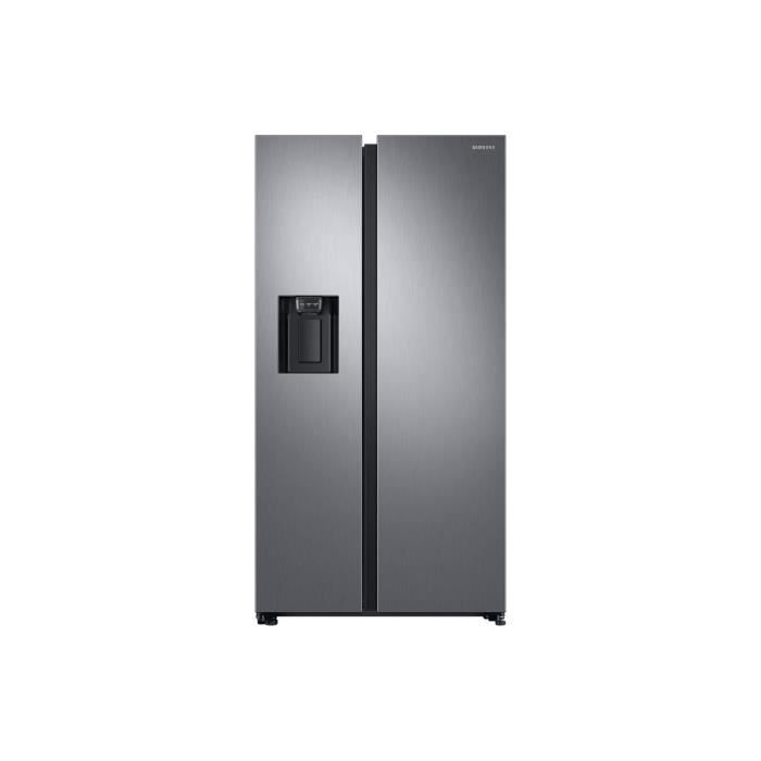 RÉFRIGÉRATEUR AMÉRICAIN Réfrigérateur américain 91cm 617l a+ nofrost plati