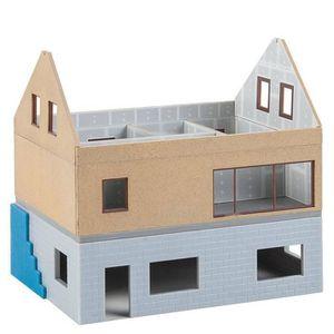 comment construire une maison en carton miniature maison. Black Bedroom Furniture Sets. Home Design Ideas