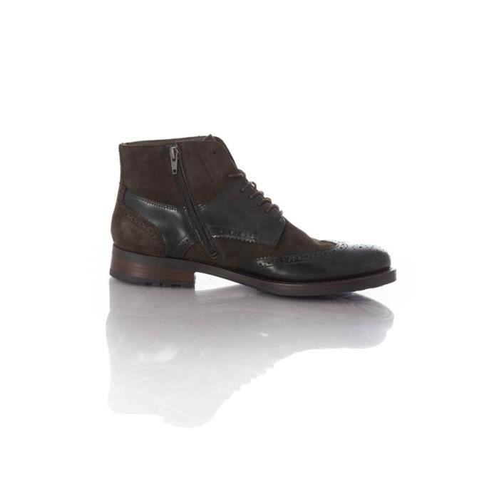 Chaussures Redskins Boots - bottes Diomar noir chataigne