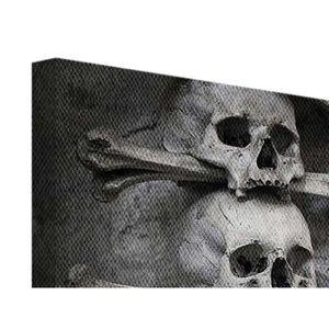tableau tete de mort achat vente tableau tete de mort. Black Bedroom Furniture Sets. Home Design Ideas