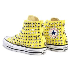 converse homme moutarde