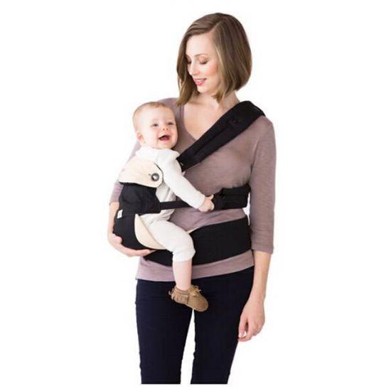 Quatre Position Porte-bébé à dos Ventral en coton Confort livraison  gratuite vite cadeau magnifique pour bébé enfant vente chaude Noir - Achat    Vente porte ... d31f8f9443b