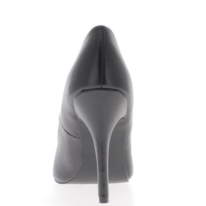 Escarpins femme noirs talon fin de 10 cm 49PkPv