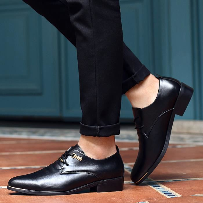 Derby Cuir Chaussures Homme 5cNchkSXch