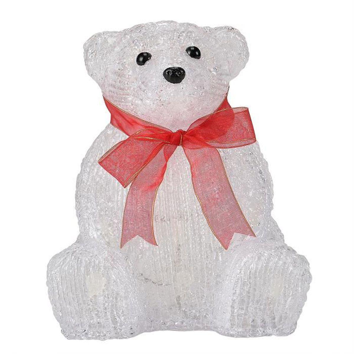 Ours polaire deco de noel achat vente ours polaire for Achat decoration de noel