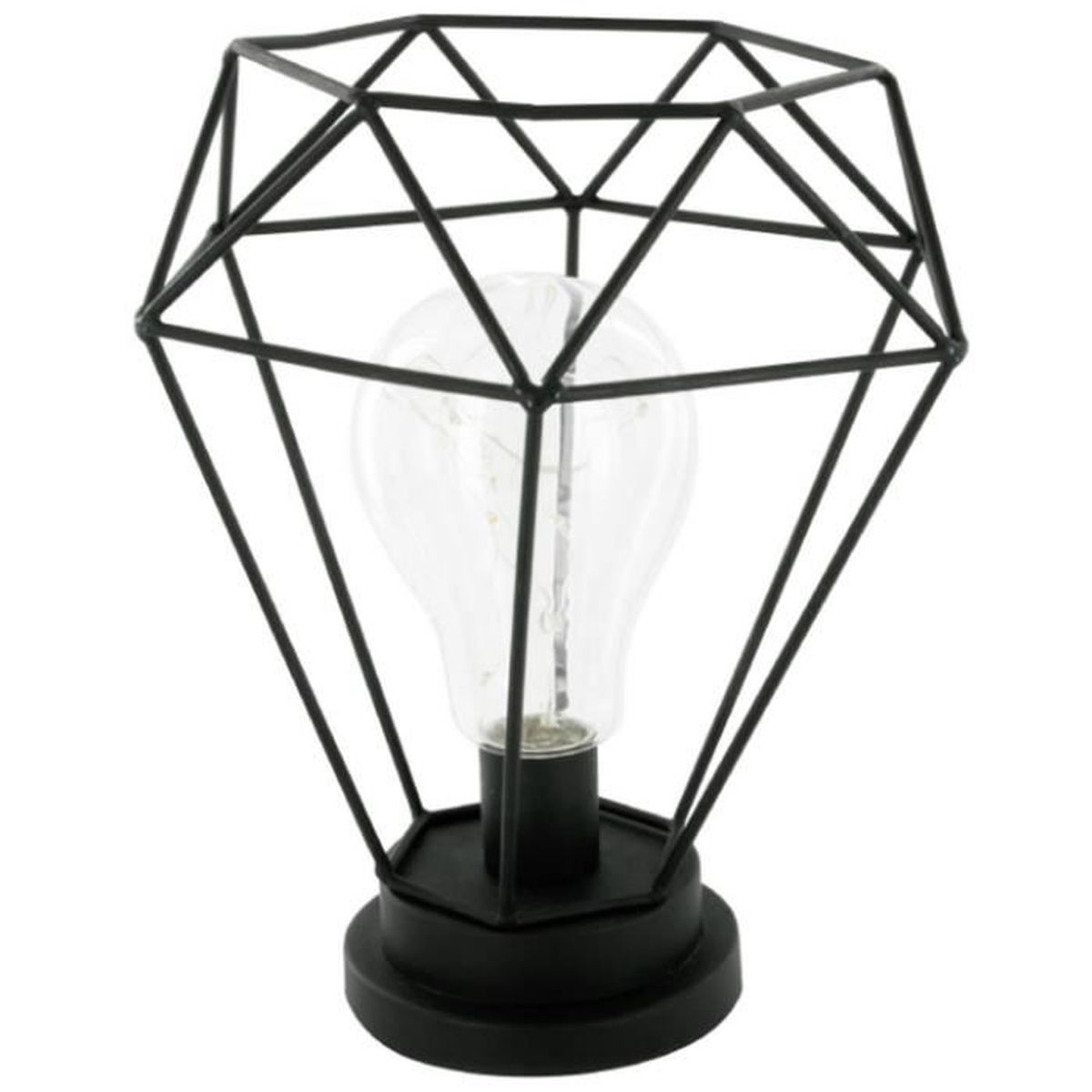 lampe a poser metal filaire