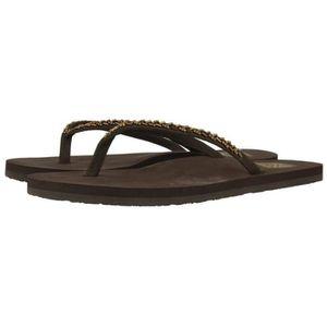 SANDALE - NU-PIEDS GIOSEPPO Sandales de Plage Chocolat Femme