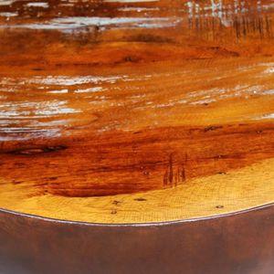 TABLE BASSE R108 Cette table basse exotique faite en bois de r