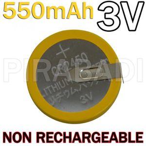 PILES PILE BATTERIE CR2450 LIR2450 550mAh 3V Limno2 A PA